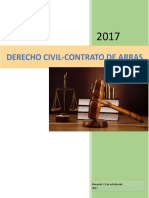 Arras Derecho Civil Contrato