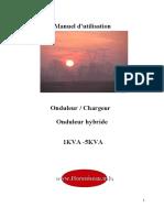 1 5kva Manuel d Utilisation Onduleur