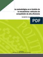 Colomer - Propuesta Metodologica en El Ambito de La Mecatronica Vehículos de Competicion de Alta...