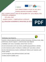 Think and Study Green Program (Cro)