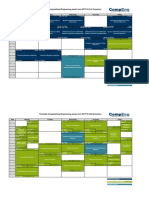 Timetable for the summer semester