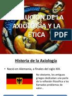 Evolución de La Axiología y La Ética
