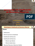 11 - Metodologa Clasif Recursos y Reservas - M. Mansilla - Codelco