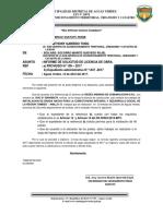 ( 019) Informe de Licenci Torres Andinas