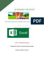 Excel 23 de Octubre