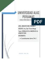 Lima Informe de Cero y Madera