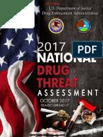 Informe anual de la DEA sobre las drogas ilícitas dentro y fuera de Estados Unidos - 2017