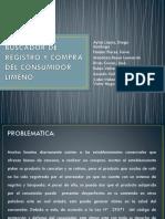 Buscador de Registro y Compra Del Consumidor Limeño