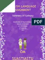 Ppt Epilepsy