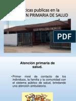Politicas Publicas en La Atencion Primaria de Salud (1)