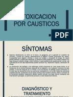 Intoxicacion Por Causticos