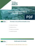 Prevenção e Risco Profissional Hepatites Víricas