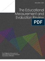 Educational Measurement and Evaluation Review (EMEReview)