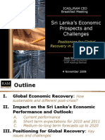Sri Lank a Outlook