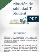 Distribuciones T, F y Ji