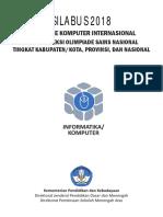 Silabus OSN Informatika-Komputer 2018
