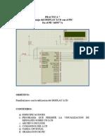 Práctica 7 Manejo del LCD