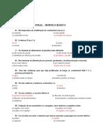 GABARITO - Materias Básicas 2