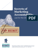CEO Guide to Marketing Accountability