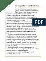 Violeta Parra 3 Clase