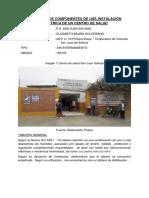 Selección de Componentes de Una Instalación Eléctrica de Un Centro de Salud