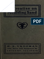 A Treatise on Moulding Sand 1904