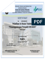 Format Sertifikat Pelatihan HD