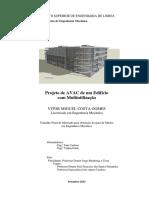 Teses - Projeto de AVAC de Um Edifício Com Multiutilização