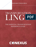 Essential Transportation Reference Guide X