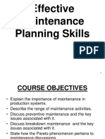 241319364 Maintenance Planning and Scheduling Ppt