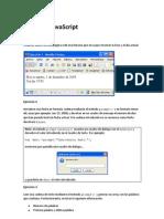 Ejercicios Javascript
