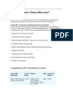 Tax Saving Info - 2010 - 2011