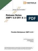 Release Notes 5.8 SR1.En