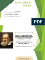 Postulados de Galileo Galilei