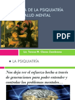 Tema 1 Salud Mental Historia