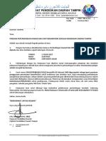 Surat Pindaan Pertandingan Kawad Kaki Sm 2017