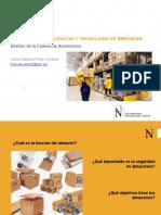 Almacenes-Señalización y Tecnologías de Empaque