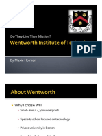 wentworth mission
