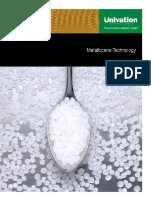 08-136Univ_Metallocene Final pdf | Polyethylene | Polymer
