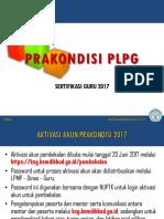 Prakondisi PLPG