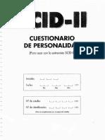 Cuestionario SCID II