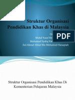 Pmbntngn Struktur Organisasi Pend Khas d Malaysia