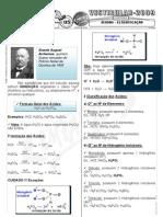Química - Pré-Vestibular Impacto - Ácidos - Classificação I
