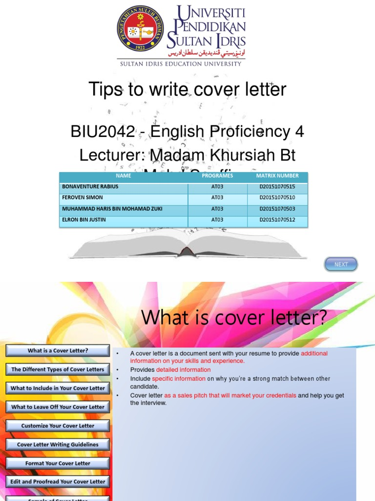 Ep4 Tips To Write Cover Letter Proofreading English As A Second Or Foreign Language