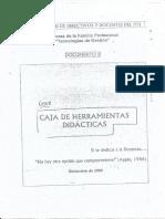 Caja de Herramientas Didactica -Didactica II