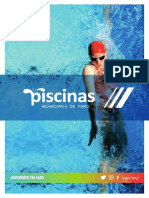 Folheto  Piscinas 2016