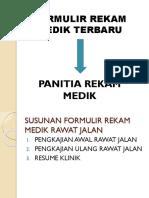 Formulir Terbaru Rekam Medi