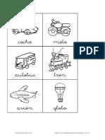Láminas de transportes