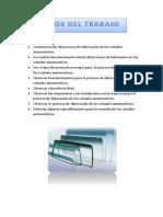 Caracterización Del Proceso de Fabricación de Los Cristales Automotrices