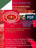 Unidad de Bomberos Presentación-2013
